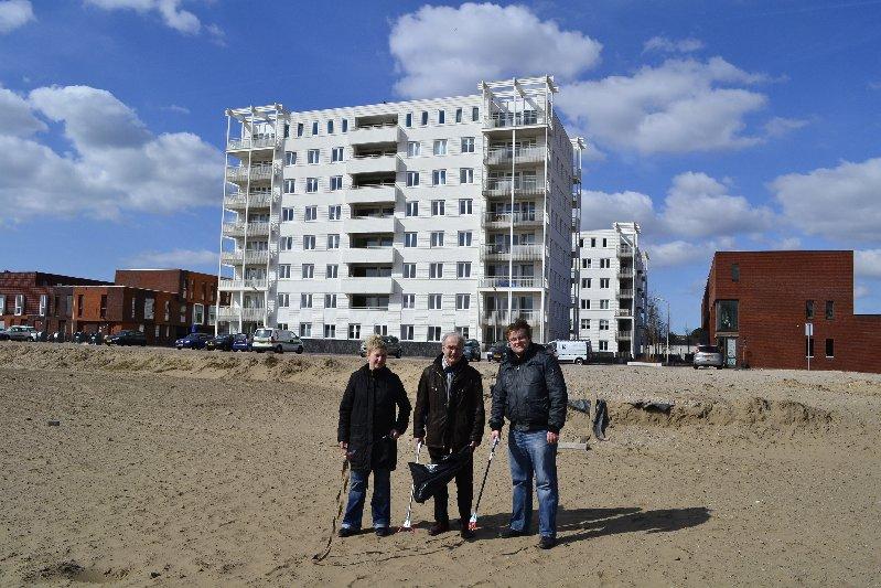 V.l.n.r: Simone Bontenbal, Johan Zwakman en Fred Tromp