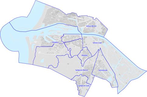 kaart Velsen
